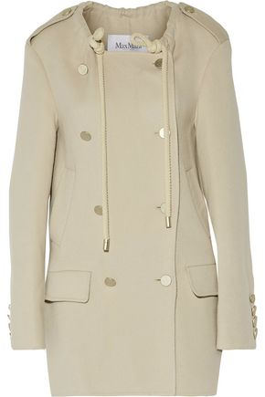 MAX MARA Wool and angora-blend felt coat
