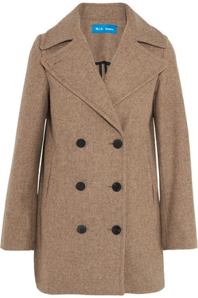 M.I.H JEANS Rosen double-breasted wool-blend coat