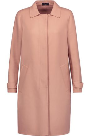 THEORY Dafina wool-blend coat