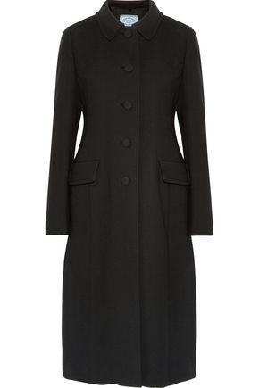 PRADA Wool-crepe coat