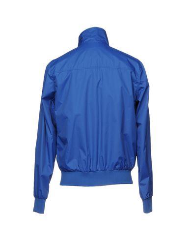 Фото 2 - Мужскую куртку  ярко-синего цвета