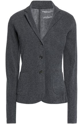 MAJESTIC FILATURES Stretch cotton and cashmere-blend jacket