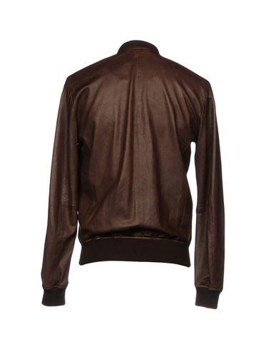 Фото 2 - Мужскую куртку S.W.O.R.D. темно-коричневого цвета