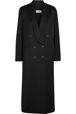 TEMPERLEY LONDON Douglas wool-blend sateen coat