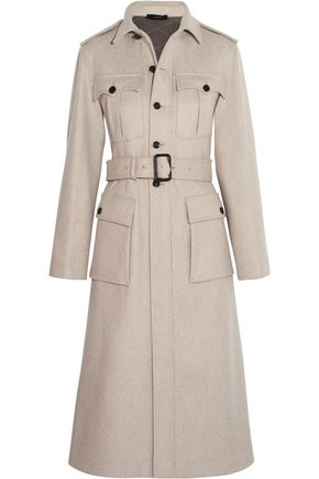 JOSEPH Mili felted wool-blend coat