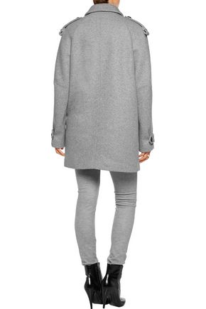 ISABEL MARANT Faber oversized wool-blend coat