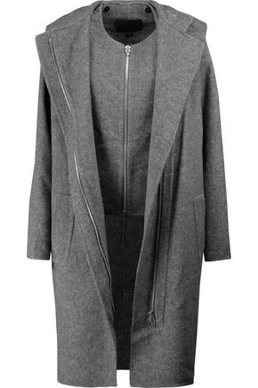 ALEXANDER WANG Convertible felt coat