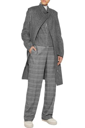 ALEXANDER WANG Convertible felt coat