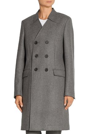 JOSEPH Double-breasted boiled wool coat