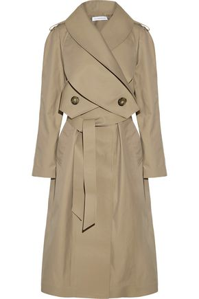 J.W.ANDERSON Double-breasted gabardine trench coat