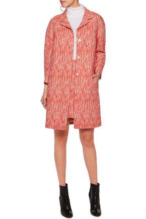 CARVEN Cotton-blend bouclé coat