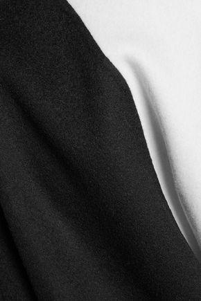 RAG & BONE Rockley two-tone brushed-wool coat