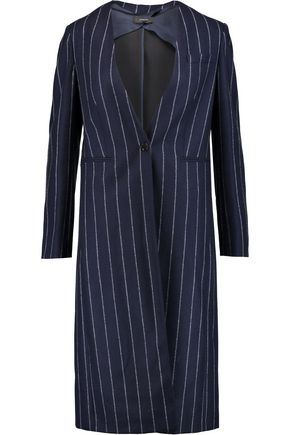 JOSEPH Laure pinstriped wool coat