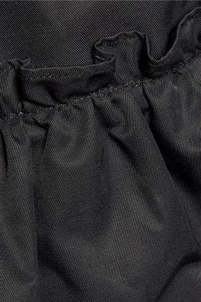 J.W.ANDERSON Ruffled gabardine trench coat