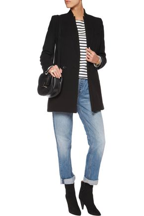 IRO Carey wool-blend twill coat
