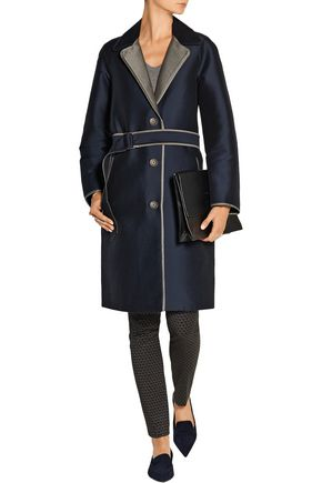 RAG & BONE Clayton belted cotton-gabardine coat