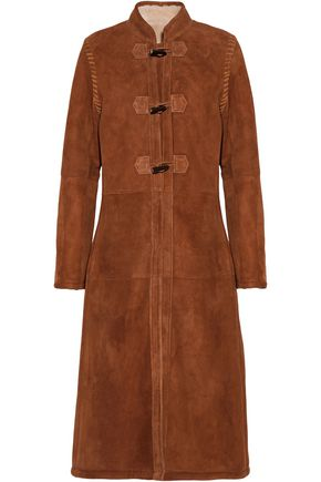 VANESSA SEWARD Christophe whipstitched shearling coat