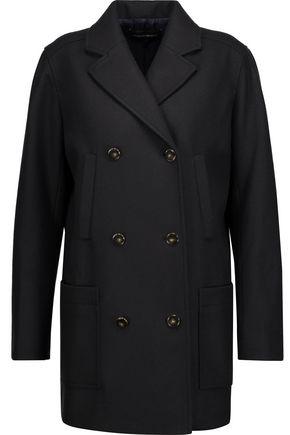 VANESSA SEWARD Caban double-breasted wool-blend felt coat