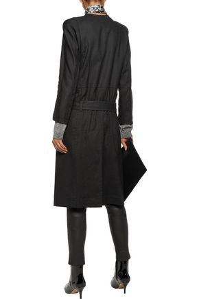 HAIDER ACKERMANN Linen-blend twill trench coat