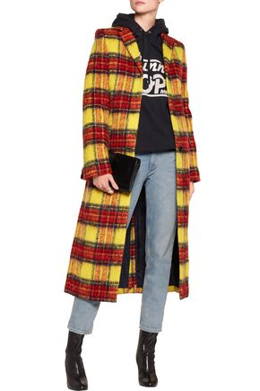 ACNE STUDIOS Alexa checked wool-blend coat