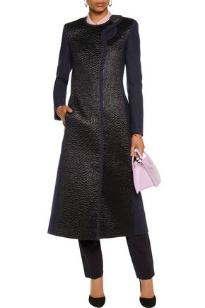 ROKSANDA Evanton mohair-paneled wool-blend coat