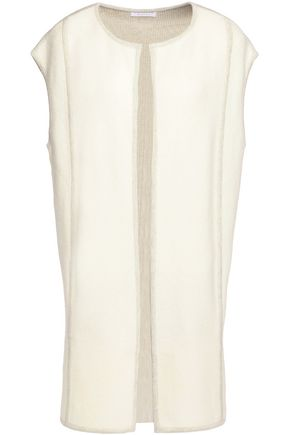 DUFFY Cashmere and wool-blend vest