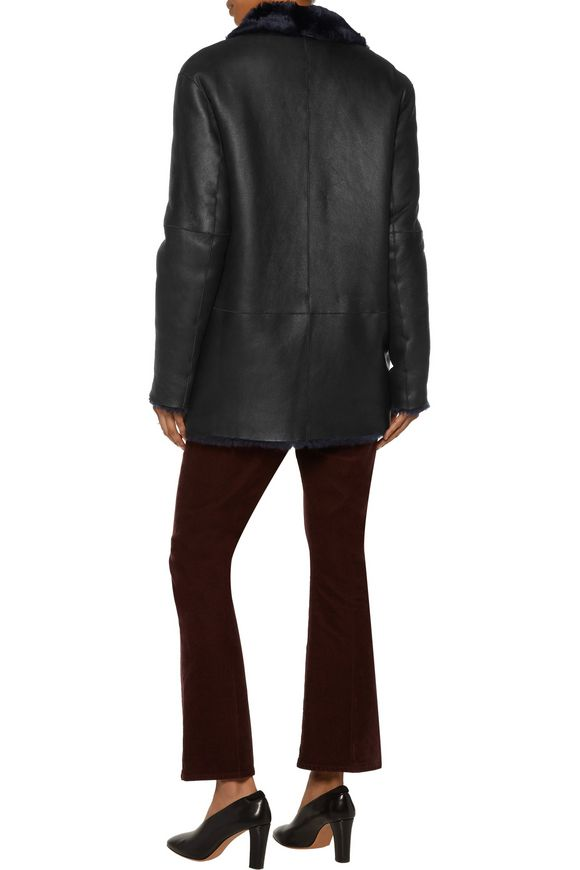 Ringo double-breasted shearling coat | JOSEPH | Sale up to 70% off | THE  OUTNET