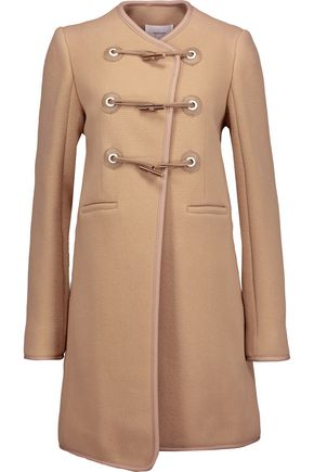 CARVEN Wool-blend felt coat