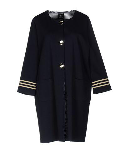 Фото - Легкое пальто от CRISTINAEFFE темно-синего цвета