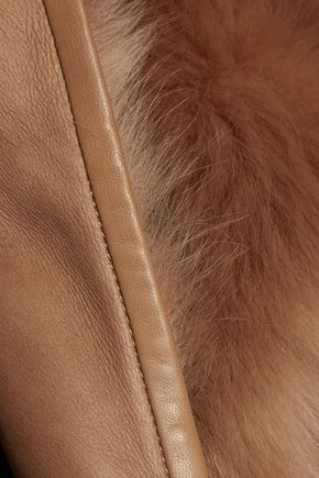JOSEPH Reversible leather coat