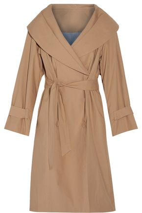 SEA Cotton-gabardine trench coat
