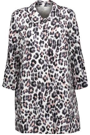 JOIE Wes leopard-print linen jacket