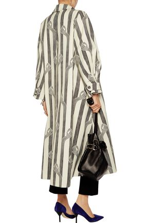 EMILIA WICKSTEAD Printed twill coat