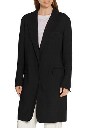 DKNY Stretch wool-twill coat