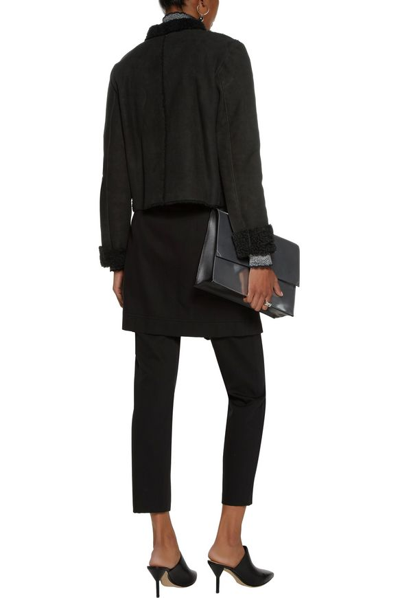 Cropped shearling coat | PROENZA SCHOULER | Sale up to 70% off | THE OUTNET