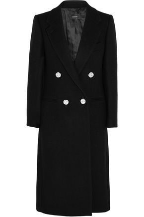 JOSEPH Blazz double-breasted wool-blend coat