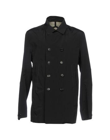 Фото - Легкое пальто от ESEMPLARE темно-синего цвета