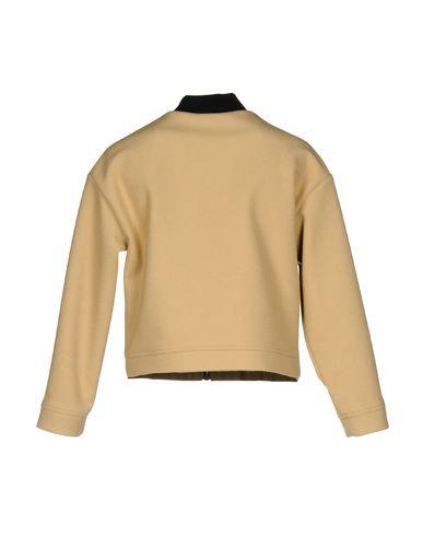 Фото 2 - Женскую куртку MSGM бежевого цвета