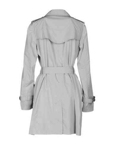 Фото 2 - Легкое пальто от HISTORIC светло-серого цвета