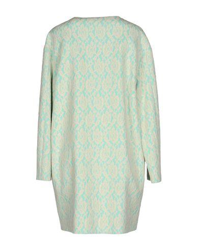 Фото 2 - Легкое пальто бирюзового цвета