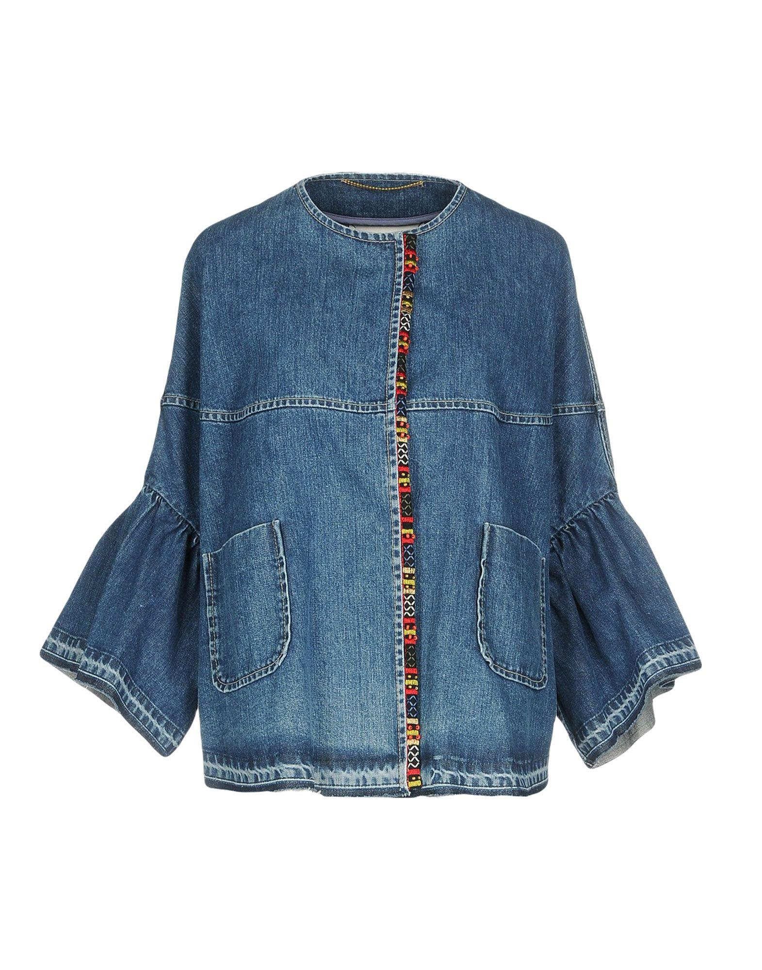 BAZAR DELUXE Джинсовая верхняя одежда folk джинсовая верхняя одежда