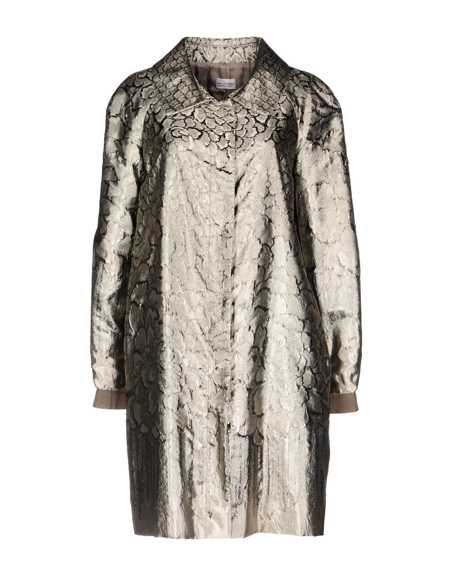 PHILOSOPHY di ALBERTA FERRETTI Легкое пальто