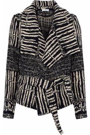 IRO Cotton-blend jacquard jacket