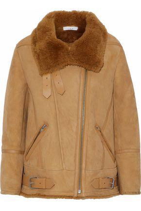 IRO Nubuck and shearling jacket