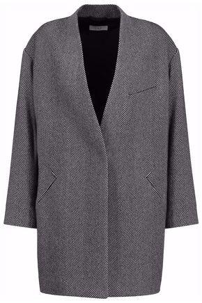 IRO Herringbone wool-blend jacket