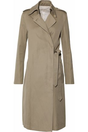 HELMUT LANG Cotton-twill trench coat