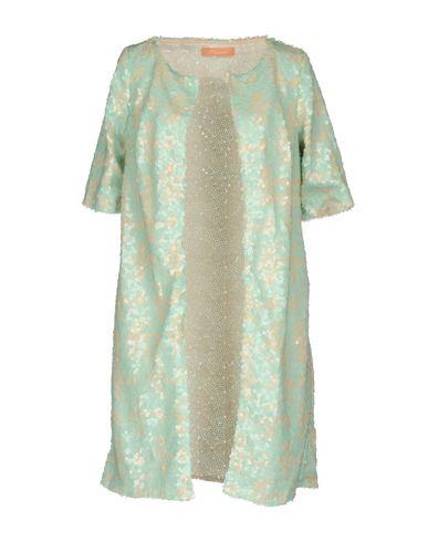 Фото - Легкое пальто от MACRÍ светло-зеленого цвета