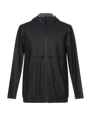 Фото - Мужскую куртку RAINS темно-синего цвета
