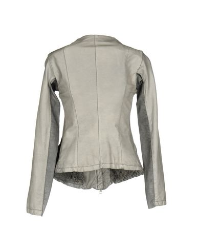 Фото 2 - Женскую куртку GIORGIO BRATO серого цвета