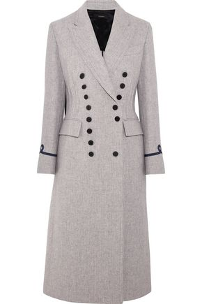 JOSEPH New Jacky appliquéd wool-blend coat